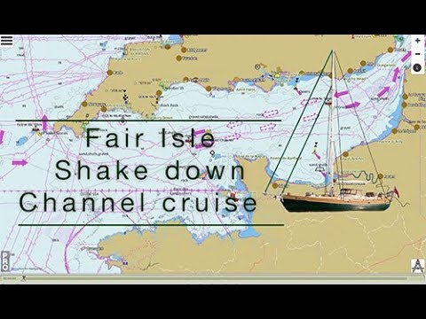 Sailing across the English Channel