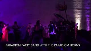 Paradigm Party Band With Horn Section at Gala Private Event