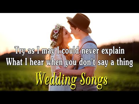Most Romantic Wedding Love Music Lyrics Collection – Top Beautiful Wedding Love Songs With Lyrics