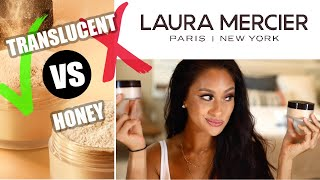 NEW! Laura Mercier Honey Setting Powder VS Translucent | Which Is Better? + NEW NARS Orgasm Coll.