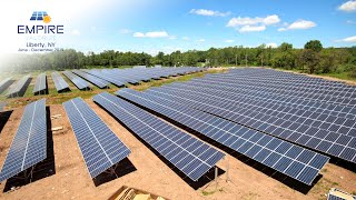 Time-Lapse: Empire Valorize Solar Panel Project in Liberty, NY