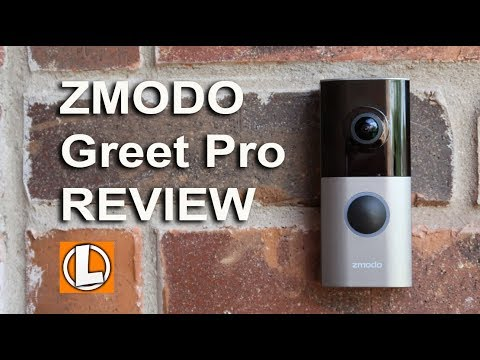 Zmodo Greet Pro 1080p WiFi Doorbell Review - Unboxing, Setup, Settings, Installation, Video Footage