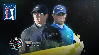 Rory McIlroy defeats Gary Woodland 4 & 2 at the 2015 WGC-Dell Match Play
