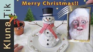 MERRY CHRISTMAS!!! Kluna Tik Dinner #94   ASMR eating sounds