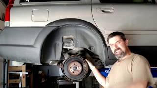 Replacing The Rear Wheel Bearing On 01 08 Volvo's