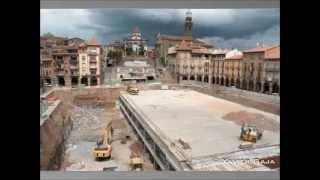 preview picture of video 'Time-Lapse obres Plaça Bernadí - Manlleu'