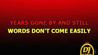 Tracy  Chapman   Baby Can I Hold You  Karaoke