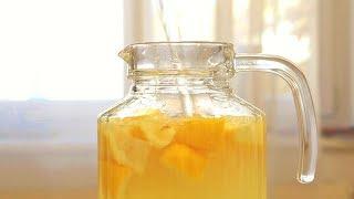 Лимонно-имбирный напиток для иммунитета.  ПП рецепт
