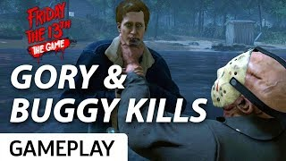 The Gory And Buggy Kills Of Friday the 13th: The Game
