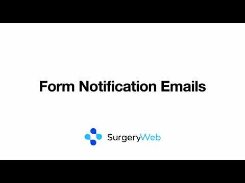 Form Notification Emails