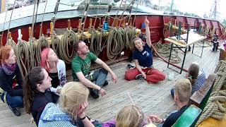 Steffen Wiegmann auf der Roald Amundsen | Veter I Volny 2019
