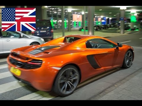2013 McLaren MP4 12C Spider - Start Up, Exhaust, Test Drive, and In-Depth Review (English)