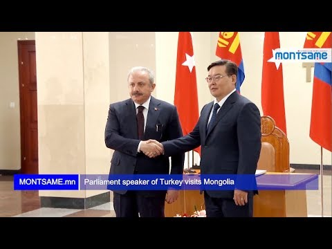 Parliament speaker of Turkey visits Mongolia