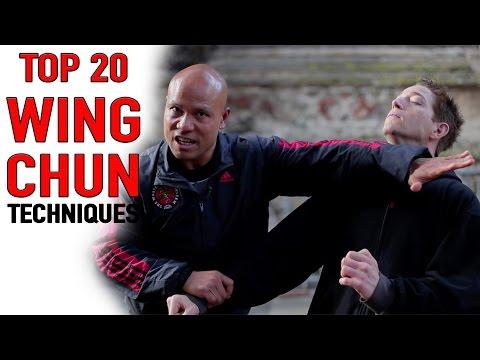 Top 20 wing Chun Techniques
