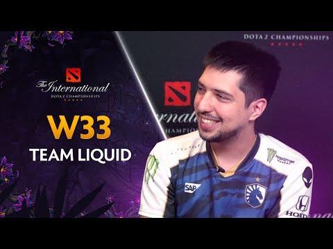 W33.Liquid «Даже если мы проиграем, мир не рухнет» @ The International 2019 [RU Sub]