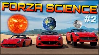 CHANGING THE GRAVITY | Forza Science | Moon, Mars, Jupiter & Sun-like Gravity in Forza Horizon 3