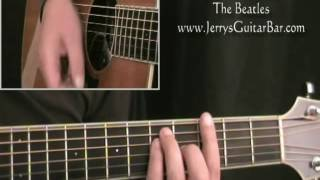 How To Play The Beatles P.S. I Love You (intro only)