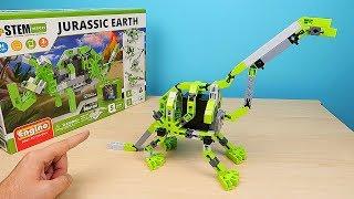 Конструктор Engino! Сложил Динозавра на батарейках! alex boyko
