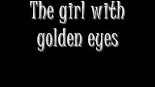 Sixx AM Girl with Golden Eyes LYRICS Video