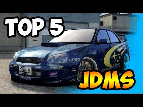 Top 5 JDM Cars - GTA V