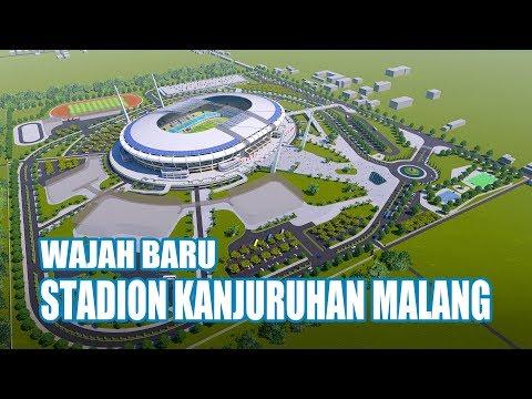 Redesain Stadion Kanjuruhan Malang Sesuai Standar FIFA | Arema