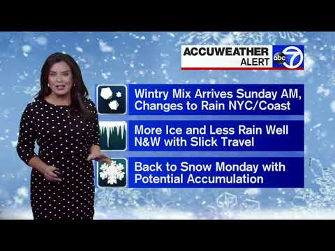 NYC Weather: Winter Storm Watch, Warning issued for parts of area