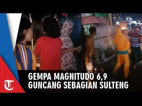 BREAKING NEWS! Gempa Magnitudo 6,9 Guncang Sebagian Wilayah Sulawesi Tengah