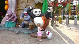 Самый лучший Детский парк? ВЛОГ #2 с HELLO KITTY в СУПЕР парке для детей Видео для девочек Vlog