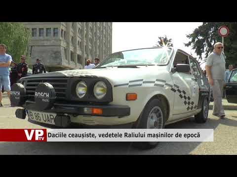 Daciile ceaușiste, vedetele Raliului mașinilor de epocă