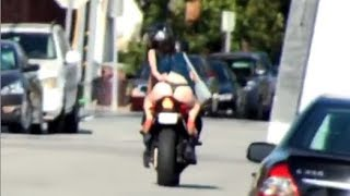 PICKING UP UBER RIDERS WITH A MOTORCYCLE!!