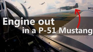 P-51 Engine Out, Off-Airport Landing - Video Clip