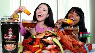 Smackalicious Seafood Boil With Stephanie Soo   First Pouch Taste Test