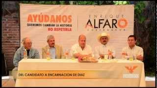preview picture of video 'Enrique Alfaro en Encarnación de Díaz'