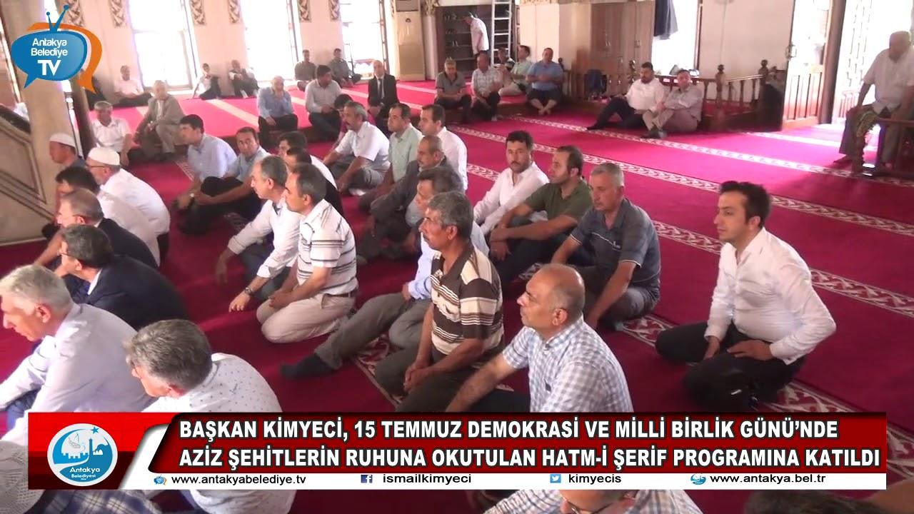 BAŞKAN KİMYECİ, 15 TEMMUZ DEMO...
