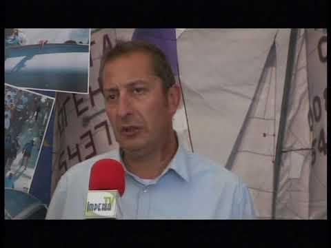 PRESIDENTE NAZIONALE FEDERAZIONE ITALIANA VELA FRANCESCO ETTORRE AL RADUNO VELE D'EPOCA 2018