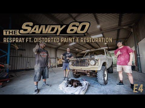 The Sandy 60   Respray ft. Distorted Paint & Restoration (60 Series LandCruiser build)
