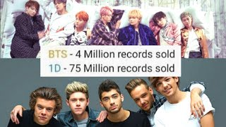 Who is bigger BTS vs ONE DIRECTION... (extreme comparison)