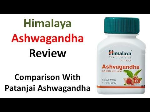 , title : 'Himalaya Ashwagandha Review | Comparison With Patanjali Ashwagandha | Hindi'