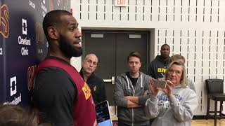 LeBron James lists off his top 3-point shooters he's played with | ESPN