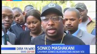 Sonko mashakani: Aliwasilishwa kwa tume ya ufisadi, EACC kuhojiwa