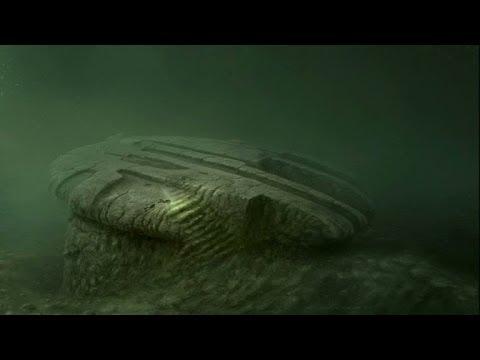 Märklig upptäckt på Östersjöns botten får världen att spekulera - Nyhetsmorgon (TV4)