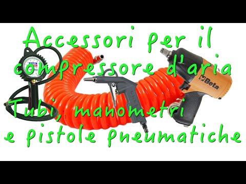 Accessori per il compressore - Manometro, prolunghe, pistole pneumatiche e pistole per soffiare
