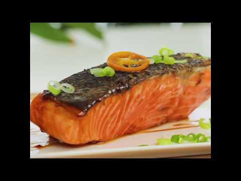 Maple Soy Glazed Fresh Salmon