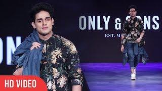 Priyank Sharma Ramp Walk For ONLY AND SONS   High Street Fashion Show