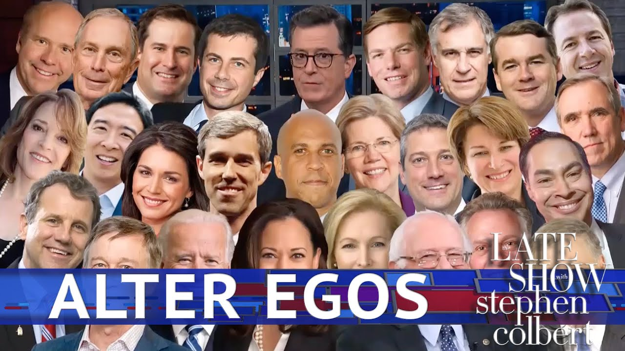 Late Show's Alter Egos: The Democratic Candidates thumbnail