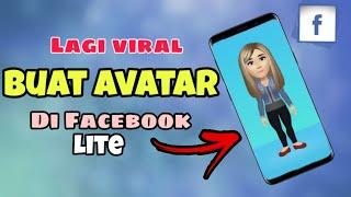 Cara membuat Avatar di FB Lite yang Viral