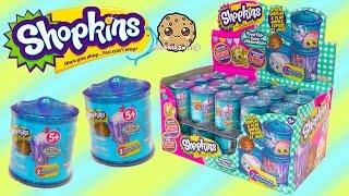 Shopkins Food Fair Candy Jar Blind Bag Box Unboxing Season 1 , 2 , 3 Exclusive Colors Video