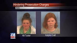 Two Women Arrested on Hindering Prosecution Charges for Etowah County Shooting