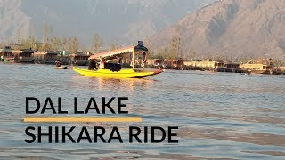 Shikara Cruise in Dal Lake Jammu and Kashmir