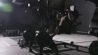 FLEX LEWIS on the Reloaded Pendulum Squat